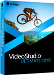 Corel VideoStudio Ultimate 2018 Commercial Win DVD English/French - Box