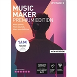 MAGIX Music Maker Premium Edition Multi-Lingual  -WIN -Commercial -ESD
