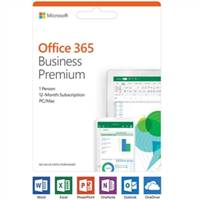 Microsoft Office 365 Business Premium - 1 User - 1 Year - Medialess -Commercial - -Box