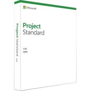Microsoft Project 2019 Standard - 1 License -Commercial -WIN -Box