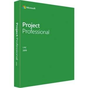 Microsoft Project 2019 Professional - 1 License -Commercial -WIN -Box