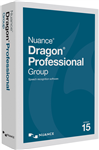 Nuance Dragon Naturally Speaking Professional Group 15.0 DVD  -WIN -Commercial -BOX