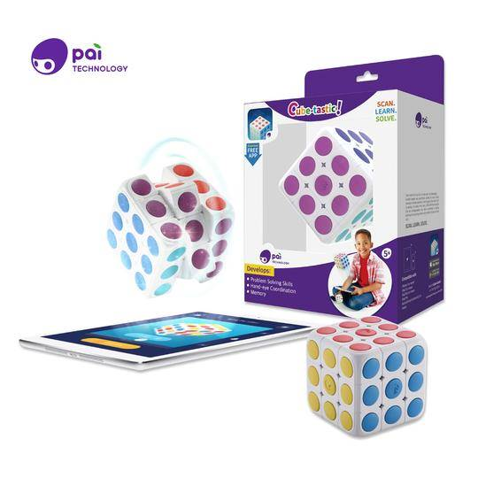 Cube Tasitc Puzzle Cube w App -Commercial -BOX