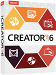 Corel Roxio Creator NXT 6 English/French/Spanish  -WIN -Commercial -ESD