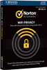Symantec Norton WiFi Privacy -1 License/5 Device  -MAC/WIN -Commercial -BOX
