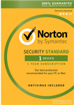 Symantec Norton Security Standard -1 Device  -MAC/WIN -Commercial -ESD
