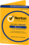 Symantec Norton Security Deluxe -5 Device  -MAC/WIN -Commercial -ESD