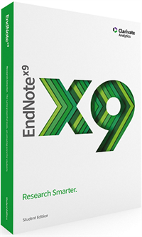 Clairvate Analytics EndNote X9 Student Edition /Win  -MAC/WIN -Academic -ESD