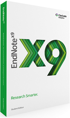 Clarivate Analytics EndNote X9 Student Edition /Win CD  -MAC/WIN -Academic -BOX
