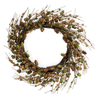 Acorns for Days Wreath