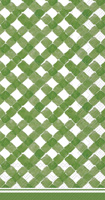 Rosanne Beck Gingham Green Guest Towels