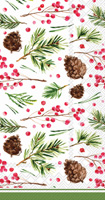 Rosanne Beck Pinecone Pattern Guest Towels