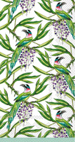 Rosanne Beck Tropical Birds Guest Towels