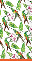 Rosanne Beck Hummingbird and Hibiscus Guest Towels