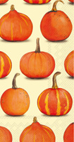 Pumpkin Party Cream Guest Towels