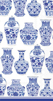 Rosanne Beck Blue and White Urns Guest Towels