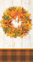 Fall Wreath Guest Towels