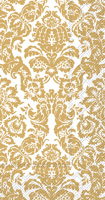 Palais White/Gold Guest Towels
