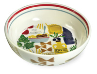 "Antipasto 8"" Pasta Bowls (Set of 4)"