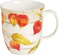 Welcome Autumn Bone China Country Mug