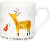 Merry Christmas My Deer Bone China Mug