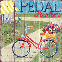 Pedal Pusher Cocktail Napkins