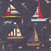 Ahoy Repeat Cocktail Napkins