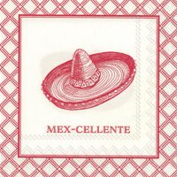 Rosanne Beck Mexcellente Cocktail Napkins
