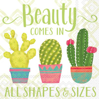 Cactus Beauty Cocktail Napkins