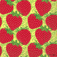 Strawberry Craze Cocktail Napkins