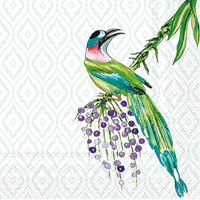 Rosanne Beck Tropical Birds Cocktail Napkins