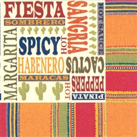 Habanera Fiesta Cocktail Napkins