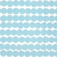 Marimekko Rasymatto Light Blue Cocktail Napkins
