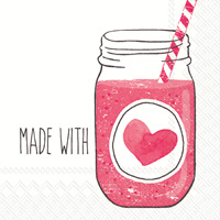 Made with Love Cocktail Napkins
