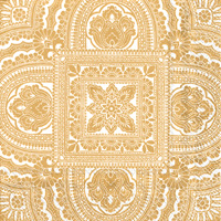 Classique Cream Gold Cocktail Napkins