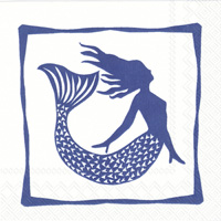 Mermaid Cocktail Napkins