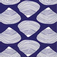 Clamshell Cocktail Napkins