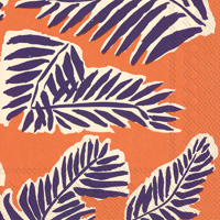 Marimekko Babassu Purple Cocktail Napkin