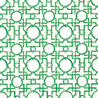 Rosanne Beck - Aiko Green Cocktail Napkins