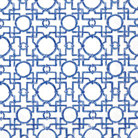 Rosanne Beck - Aiko Blue Cocktail Napkins