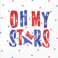 Oh My Stars Cocktail Napkins