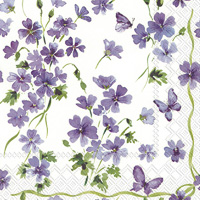Purple Spring Cocktail Napkin