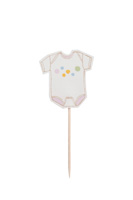 Oh Baby Cupcake Toppers (Set of 12)