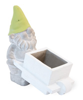 Wee Wheelbarrow Gnome