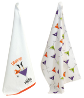 Martini Witches Tea Towels