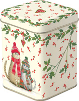 Christmas Cats Tea Tin