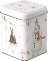 Happy Winter Day Tea Tin