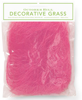 Decorative Easter Grass Pink