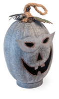 Masked Marvin Pumpkin Tealight Holder
