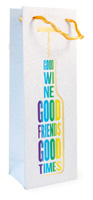 Good Friends Wine Bag